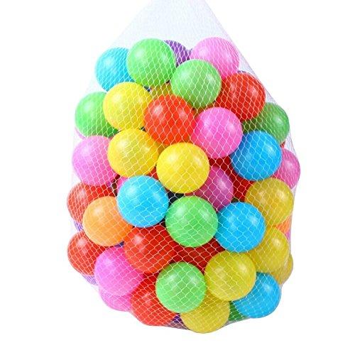 [OneStepAdvance] おもちゃボール 7色100個入り 直径5....