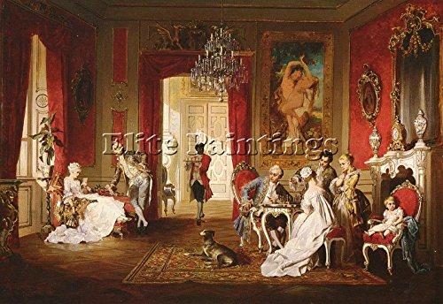 schweninger-jr-carl-the-letter-artista-quadro-riproduzione-dipinto-olio-a-mano-70x100cm-alta-qualita