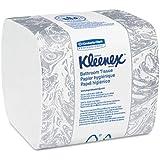 Kimberly-Clark 48280 KLEENEX Hygienic Bathroom Tissue, 2-Ply, 250/Pack, 36/Carton