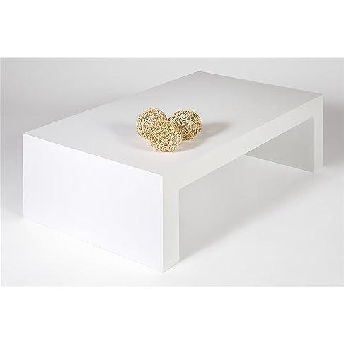 Mobilifiver First H30 Tavolino da Salotto, Legno, Frassino Bianco, 90x54x30 cm