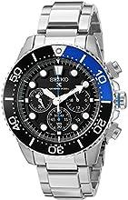 Comprar Seiko SSC017P1 - Reloj para hombre, correa de acero inoxidable color metalizado