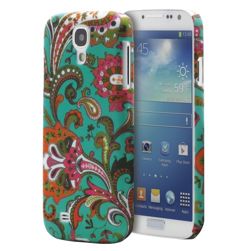Fosmon MATT Series Rubberized Case for Samsung Galaxy S4 IV - i9500 (Vintage Paisley)