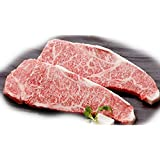 Authentic Japanese Wagyu beef Kobe Beef Strip Steaks 3 lbs -A5 Grade