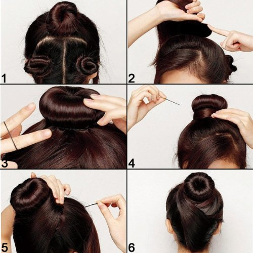 how to use the loop to make a bun