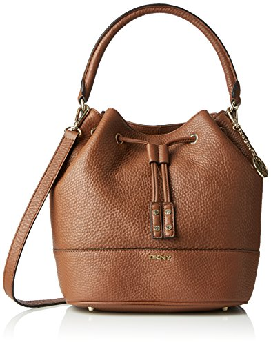 dkny-tribeca-genarbt-leder-bucket-tasche-braun-luggage-grosse-one-size