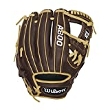 Wilson Showtime Pedroia Fit Baseball Gloves, Brown/Blonde, 11.5