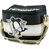 Pittsburgh Penguins Black Insulated Lunch Bag