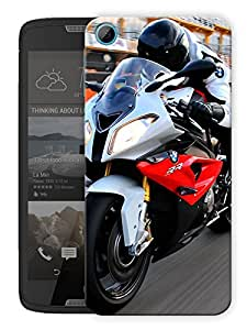 "Humor Gang S2000 Sports Bike Love Printed Designer Mobile Back Cover For ""HTC DESIRE 828"" (3D, Matte, Premium Quality Snap On Case)"