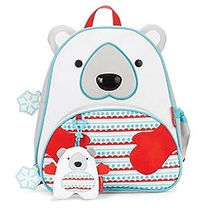 Skip Hop Zoo Winter Backpack & Plush Set  Polar Bear