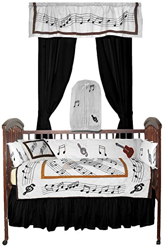 Patch Magic Music Crib Bedding