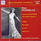 img - for AMERICAN RECORDING VOL.1 by ROSA PONSELLE [Korean Imported] (2006) book / textbook / text book