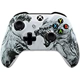 Xbox One Wireless Controller for Microsoft Xbox One - Custom Soft Touch Feel - Custom Xbox One Controller (Artic Wolf) (Color: Artic Wolf)
