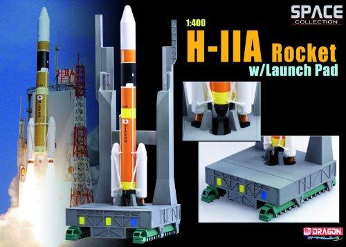 H-�UA Rocket H-2Aロケット ドラゴンモデルズ Dragonmodels ダイキャスト/プラスチックモデル 1/400 [並行輸入品]