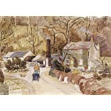 Coppice Mill, Stone, by Louisa Puller (Print On Demand)