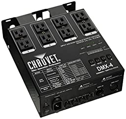 Chauvet 4 Channel Dimmer / Relay Pack