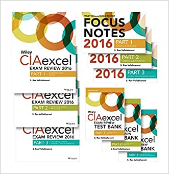 Wiley CIAexcel Exam Review 2016: Complete Pack (Wiley CIA Exam Review Series)