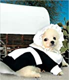 "Pilgrim Girl Costume for Dogs - Size 1 (8"" l x 10.5"" x 12"" g)"