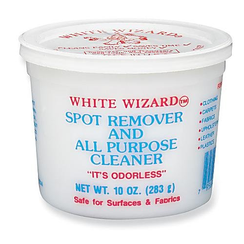 White Wizard Spot Remover and All Purpose Cleaner – 2 X 10 Oz Tubs