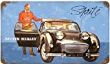Sprite Austin Healey Automotive Vintage Metal Sign - Victory Vintage Signs
