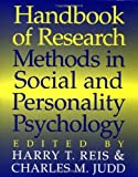 img - for By Harry T. Reis - Handbook of Research Methods in Social and Personality Psychology: 1st (first) Edition book / textbook / text book