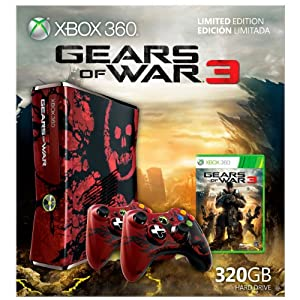 Free $40 Amazon GC + Xbox 360 Console Gears of War 3 Limited Edition (320GB) $400