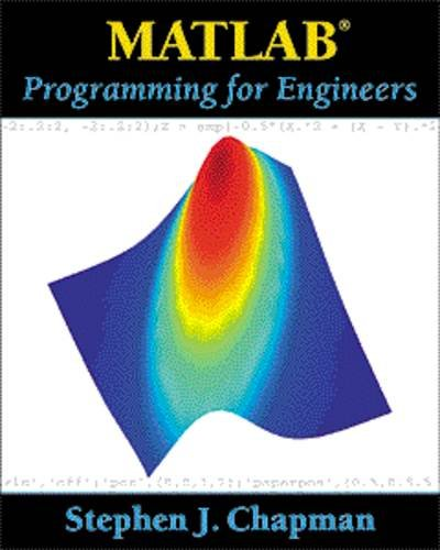 Matlab(R) Programming For Engineers