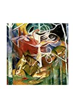 Especial Arte Lienzo Deer in the Forest I - Mark Franz Multicolor