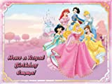 Single Source Party Supplies - Disney Princess Cake Edible Icing Image #1 - 8.0 x - 10.5 Rectangular