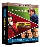 echange, troc Coffret Brad Pitt - Le stratège + Snatch + Légendes d'automne