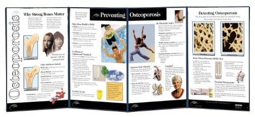"Health Edco W43135 Osteoporosis Folding Display, 58"" Length X 22-1/2"" Height Opened"