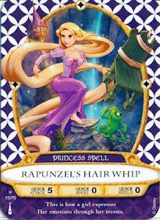 Sorcerers Mask of the Magic Kingdom Game, Walt Disney World - Card #15 - Rapunzel's Hair Whip