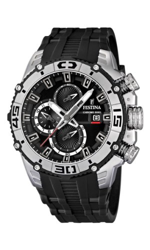 NEW Festina Chronograph Bike TOUR DE FRANCE 2012 Men's Watch F16600/2