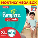 #2: Pampers XL Size Diapers Pants Monthly Pack (84 Pieces)
