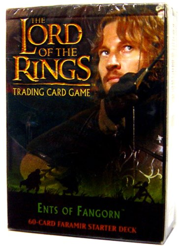 Lord of the Rings Card Game Theme Starter Deck Ents of Fangorn Faramir - 1