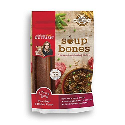 Rachael Ray Nutrish Soup Bones Dog Treats, Real Beef & Barley Flavor, 6 Bones, 12.6 oz (Nutrish Dog Food compare prices)