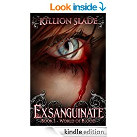 Exsanguinate - A Vampire Urban Fantasy Series (World of Blood Book 1)