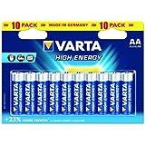 Varta High Energy AA 10-pack - Pilas (Alcalino, 1.5 V, AA)