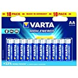 Varta 1x10 High Energy AA LR 6