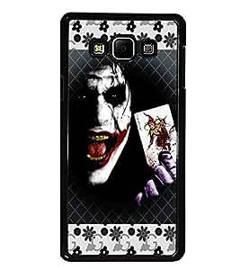 PrintDhaba Joker D-5692 Back Case Cover for SAMSUNG GALAXY E7 (Multi-Coloured)