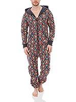 ZIPUPS Mono-Pijama Zipups (Rojo / Turquesa)