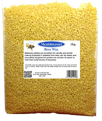 Mouldmaster 1 Kg Bees Wax, Golden Yellow from House Of Handicrafts