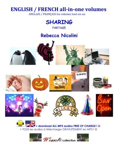 English / French : Sharing (all-in-one volume): Black & white version (Weasel) (Volume 1)