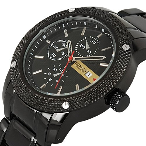 Mens-Ray-Glass-Quartz-Analog-Wrist-Watch-Watches