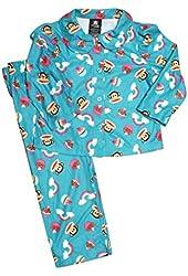 Paul Frank Girls' Monkey Cupcake & Raibow Pajamas