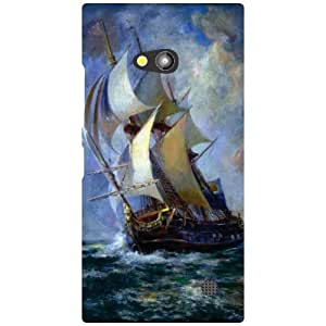 Printland Ship Phone Cover For Nokia Lumia 730