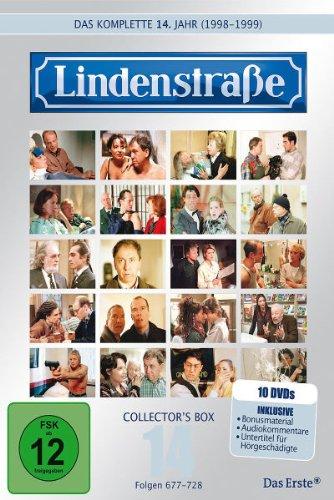 Die Lindenstraße - Das vierzehnte Jahr (Folgen 677-728) (Collector's Box, 10 DVDs)