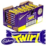 Cadbury Twirl Twin Chocolate Fingers 47g x 48 bars