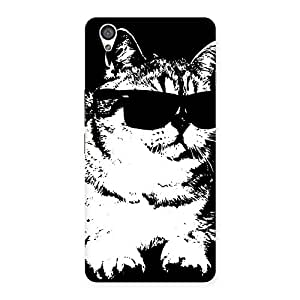 Gorgeous Thug Cat Back Case Cover for OnePlus X