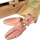 Natural Stuff A シューキーパー シューツリー 木製 レッドシダー 靴の嫌な臭いやしわを解消 お酒落パッケージ付き (41/42 (26~26.5cm))