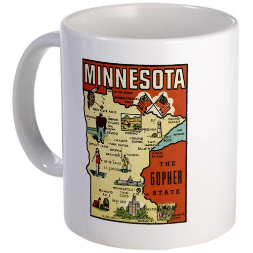 Minnesota Mn Coffee Mug Mug By Cafepress